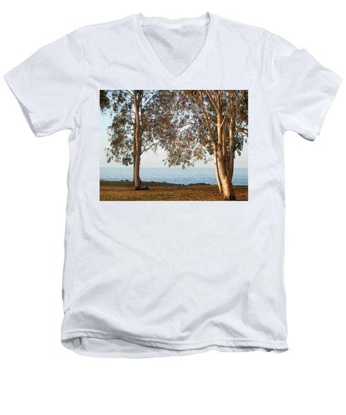 Family Roots Men's V-Neck T-Shirt