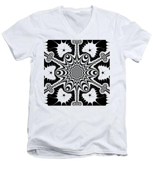 Famoirkine Men's V-Neck T-Shirt