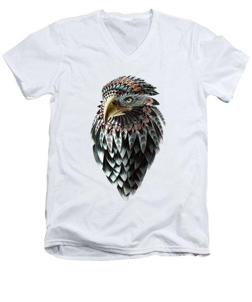 Fantasy Eagle Men's V-Neck T-Shirt