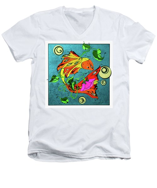 Fantasy Fish Men's V-Neck T-Shirt