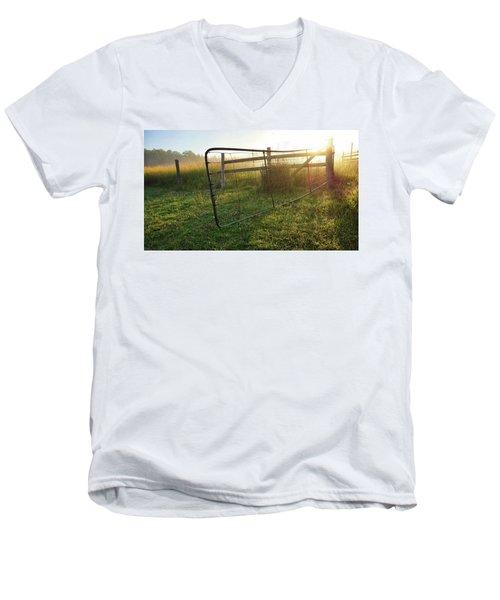 Farm Gate Men's V-Neck T-Shirt