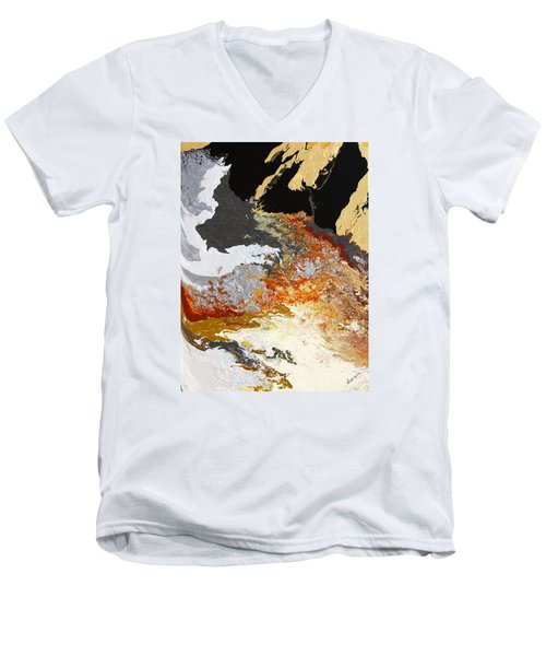 Fathom Men's V-Neck T-Shirt by Ralph White