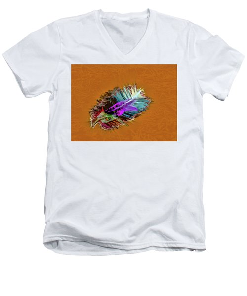 Feather #h8 Men's V-Neck T-Shirt