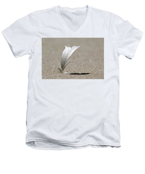 Feather Port Jefferson New York Men's V-Neck T-Shirt