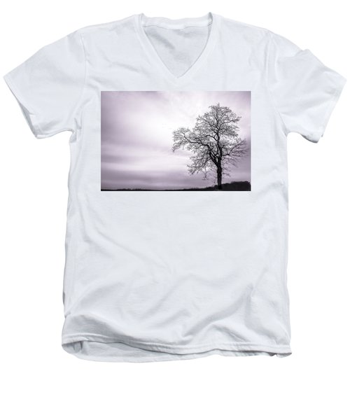 February Morning Men's V-Neck T-Shirt