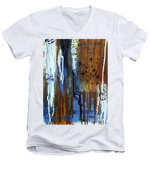 February Rain Men's V-Neck T-Shirt