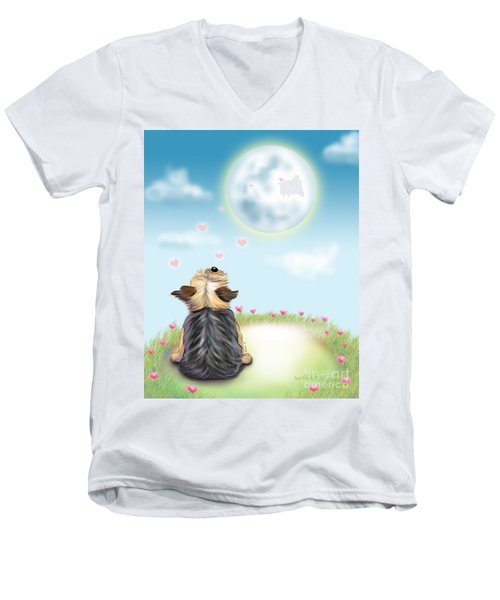 Feeling Love Men's V-Neck T-Shirt