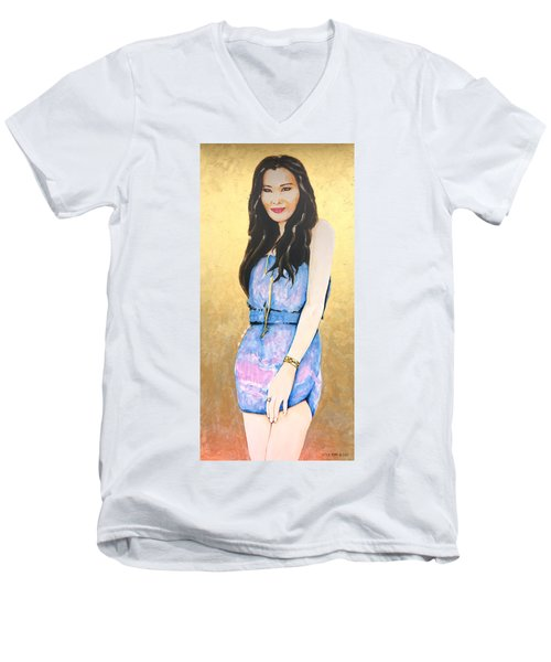 Felicia Lim Men's V-Neck T-Shirt