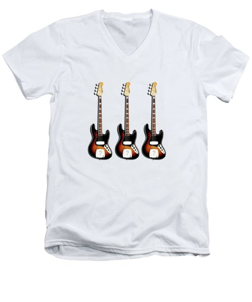 Fender Jazzbass 74 Men's V-Neck T-Shirt