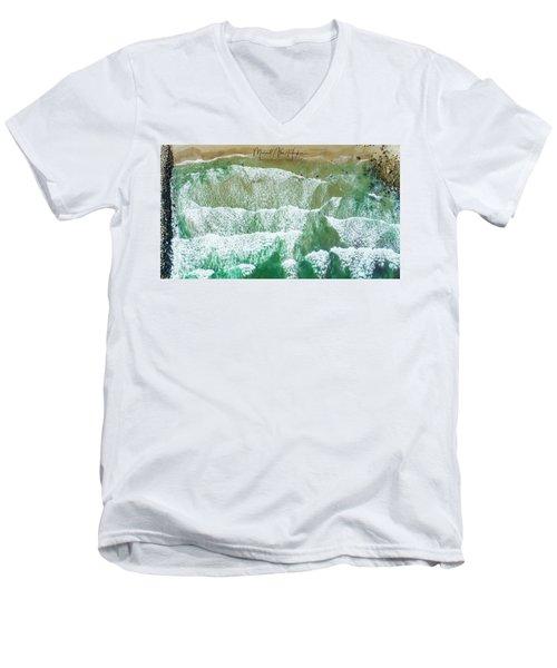 Fenway Best Little Beach Men's V-Neck T-Shirt