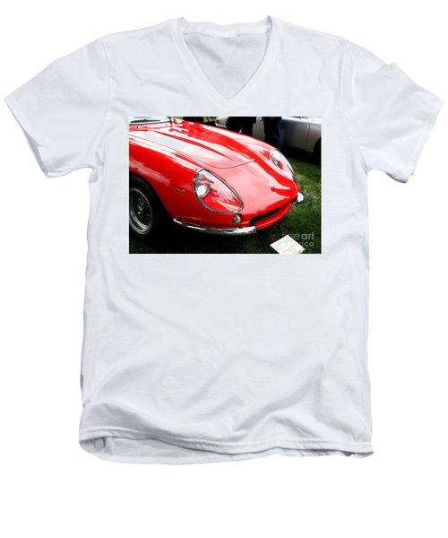 Ferrari 1 Men's V-Neck T-Shirt
