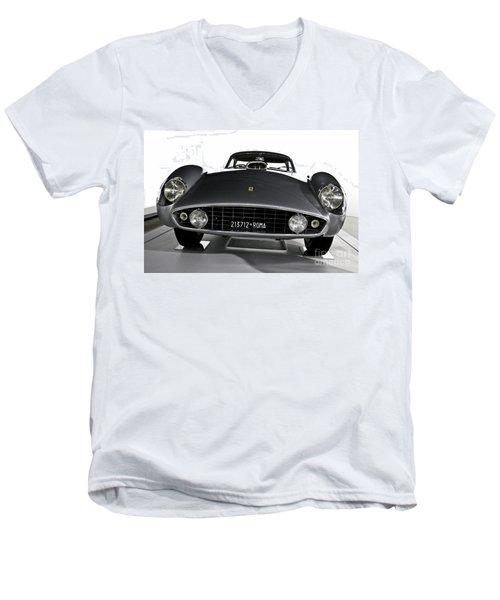 Ferrari Classic 2 Men's V-Neck T-Shirt
