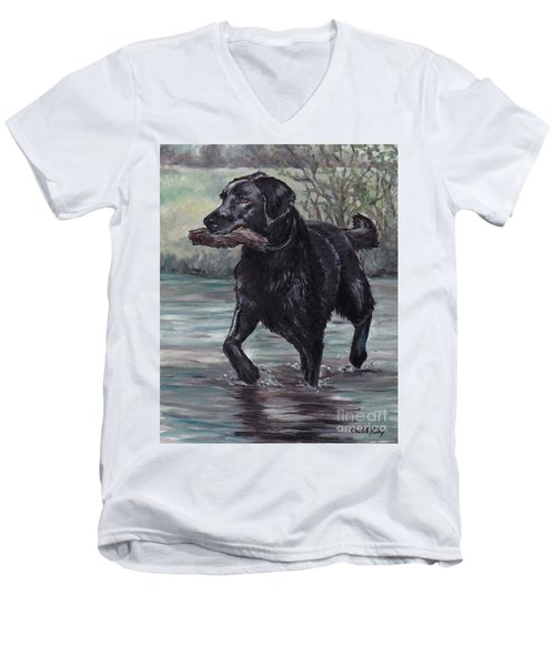 Fetch Men's V-Neck T-Shirt
