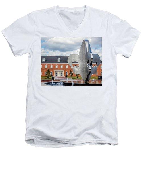 Fg Mouton Hall 02 Men's V-Neck T-Shirt