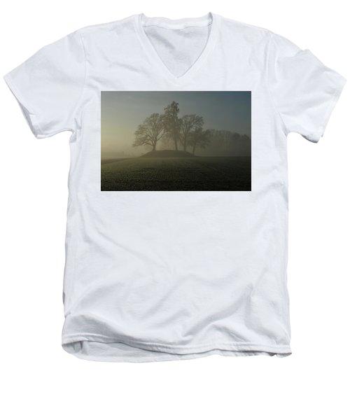 Fiddler's Mound Men's V-Neck T-Shirt
