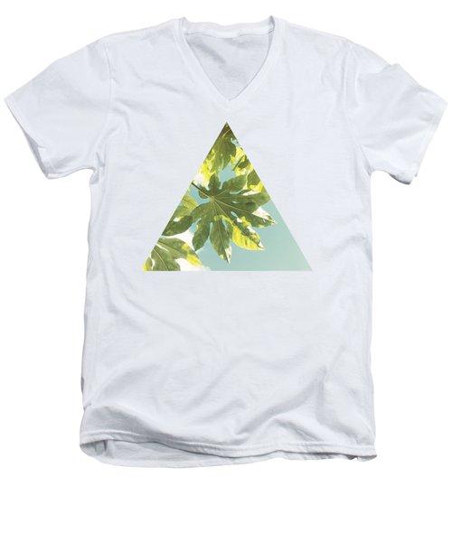 Fig Leaves Men's V-Neck T-Shirt