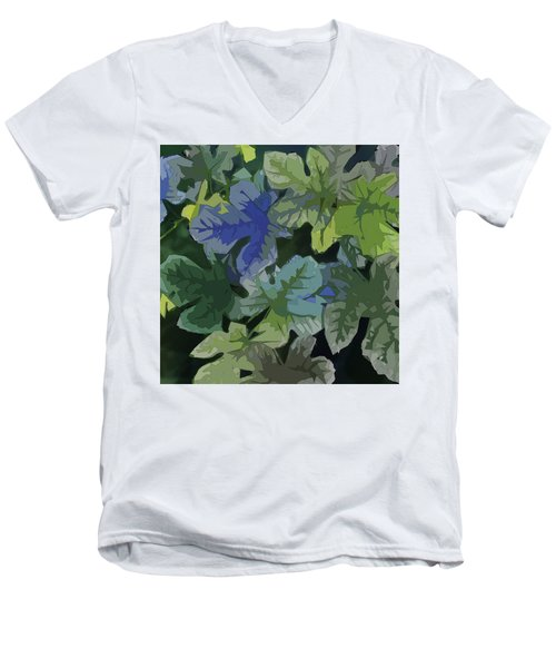 Fig Leaves Men's V-Neck T-Shirt