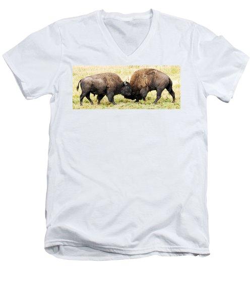 Fight  Men's V-Neck T-Shirt