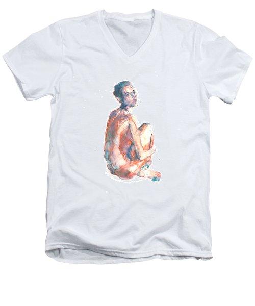 Figure 23 Men's V-Neck T-Shirt
