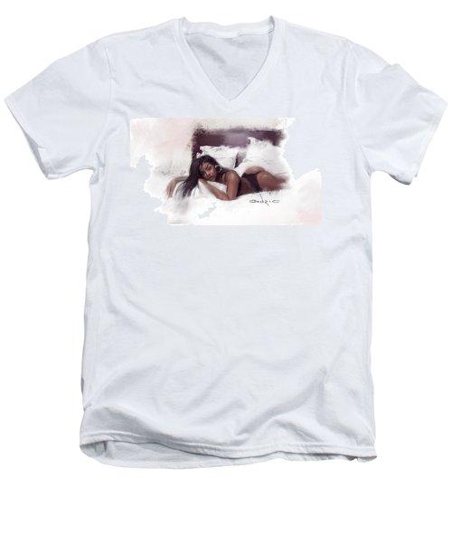 Figure Study 2 Men's V-Neck T-Shirt