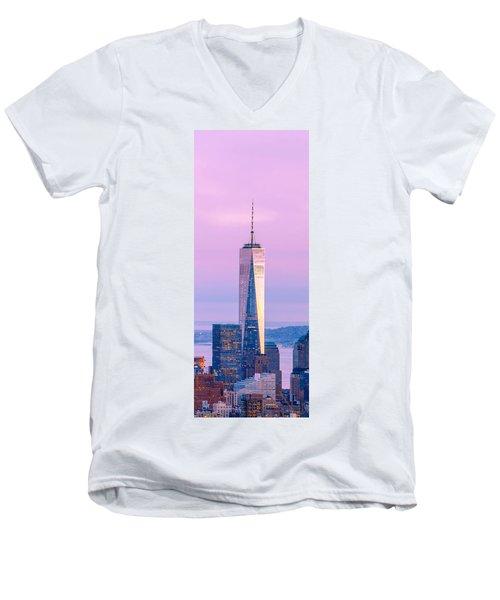 Finance Romance Men's V-Neck T-Shirt