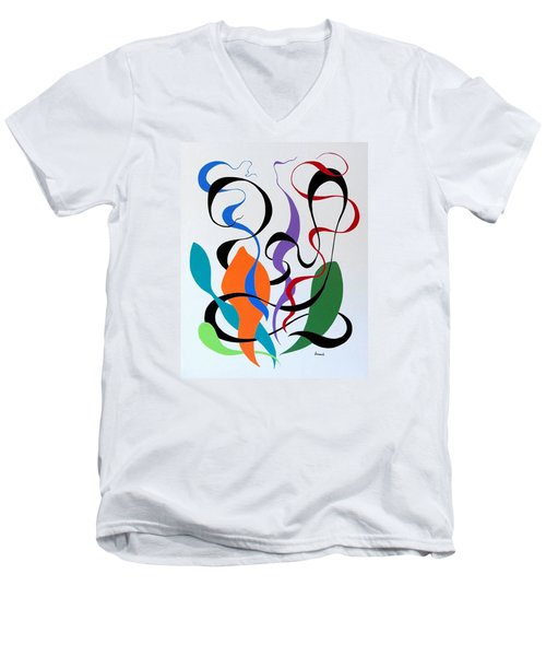 Finding Men's V-Neck T-Shirt