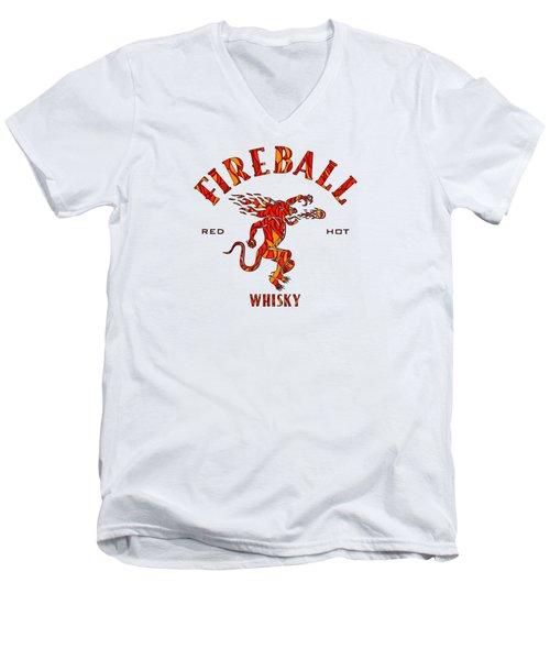 Fireball 1 Men's V-Neck T-Shirt
