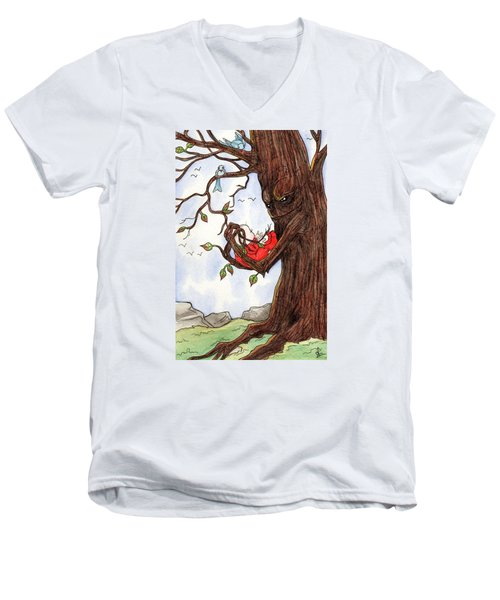 Firmly Rooted Men's V-Neck T-Shirt