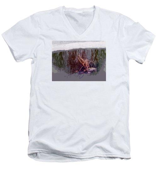 First Freeze Men's V-Neck T-Shirt