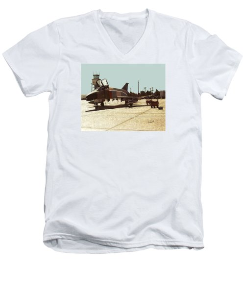 First Jet Men's V-Neck T-Shirt