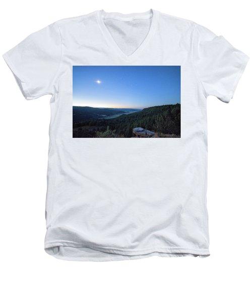 First Light At Salt Creek Men's V-Neck T-Shirt