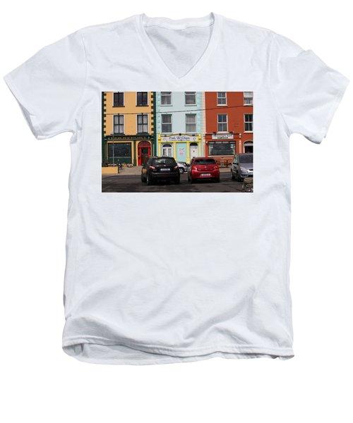 Fish And Chips 4136 Men's V-Neck T-Shirt