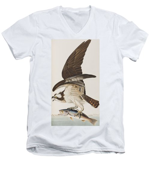 Fish Hawk Or Osprey Men's V-Neck T-Shirt