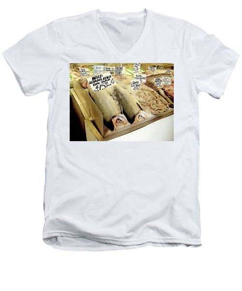 Fish Market Men's V-Neck T-Shirt