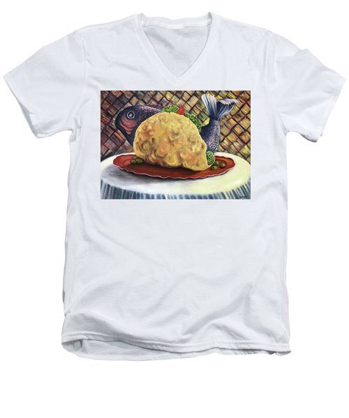 Fish Taco Men's V-Neck T-Shirt