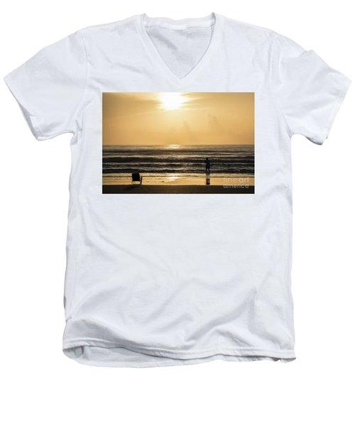 Fisherman Men's V-Neck T-Shirt