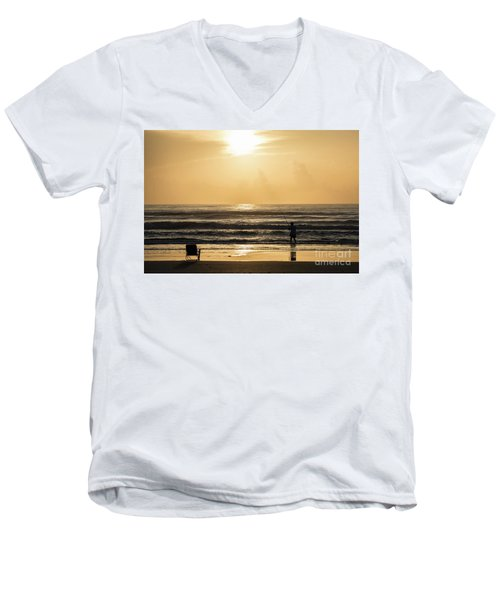 Fisherman Men's V-Neck T-Shirt