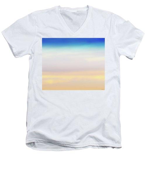 Fishers Sky Men's V-Neck T-Shirt by Glenn Gemmell