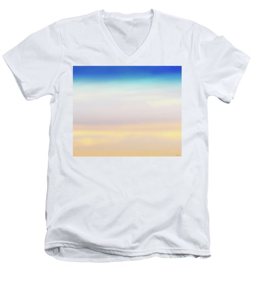 Fishers Sky Men's V-Neck T-Shirt