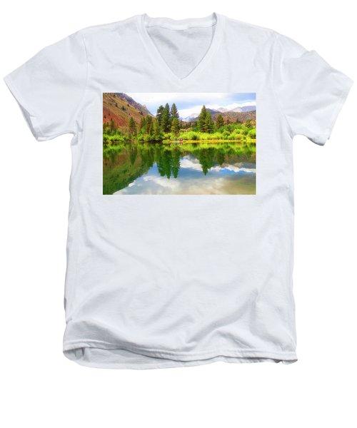 Fishing Intake 2 Men's V-Neck T-Shirt