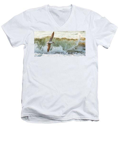 Fishing The Surf Men's V-Neck T-Shirt