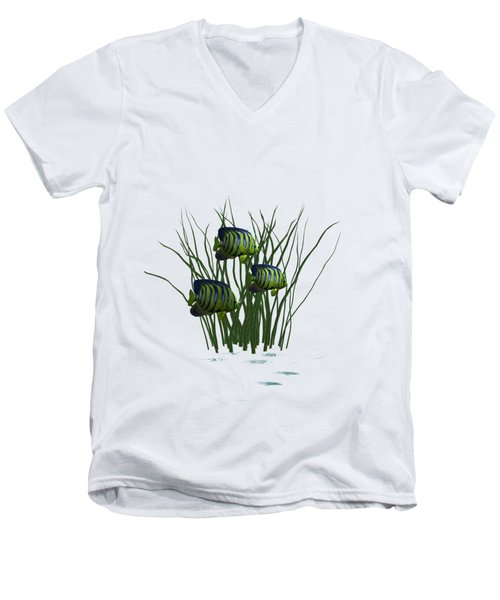 Fishpond3    T Shirt Men's V-Neck T-Shirt