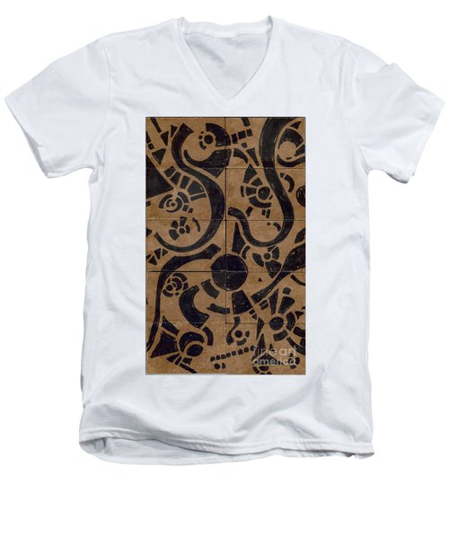 Flipside 1 Panel D Men's V-Neck T-Shirt