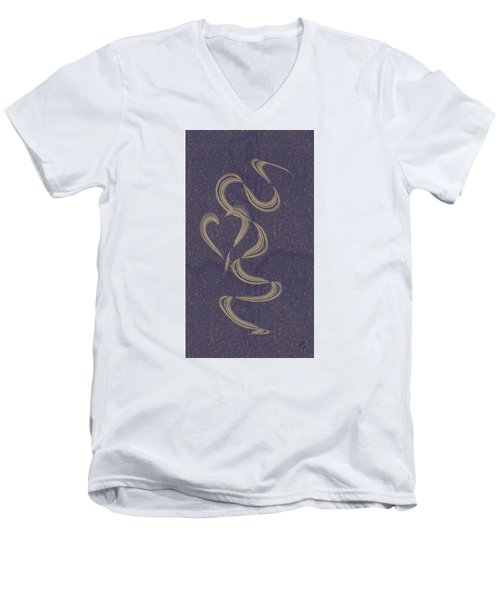Floating Heart 1 Men's V-Neck T-Shirt