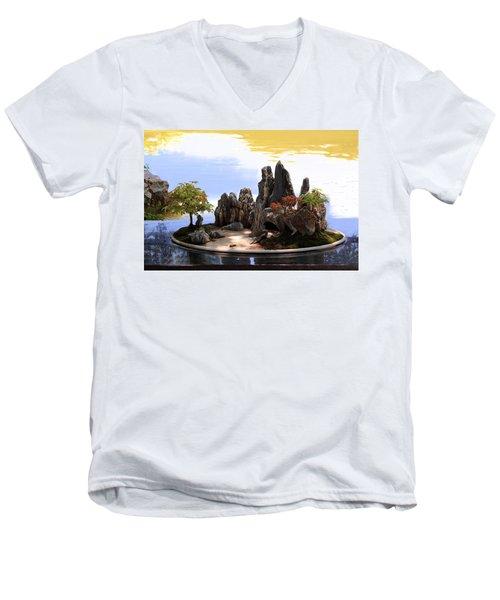 Floating Island Men's V-Neck T-Shirt
