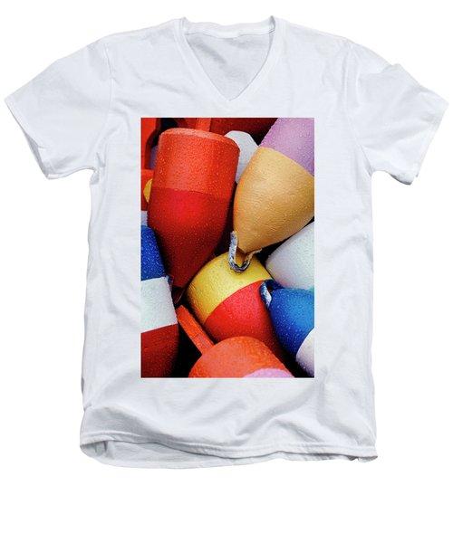 Floats Men's V-Neck T-Shirt