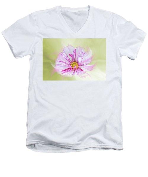 Floral Wonder Men's V-Neck T-Shirt