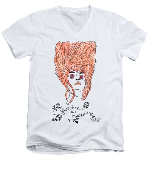 Florence And The Machine Men's V-Neck T-Shirt