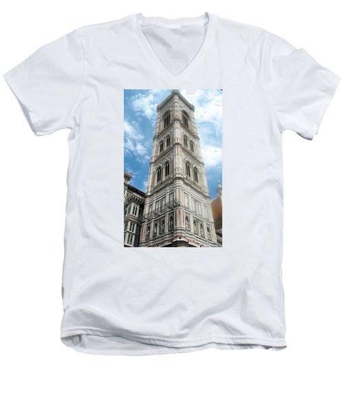 Florence Duomo Tower Men's V-Neck T-Shirt