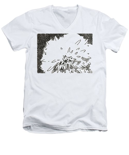 Flower 1 2015 Aceo Men's V-Neck T-Shirt